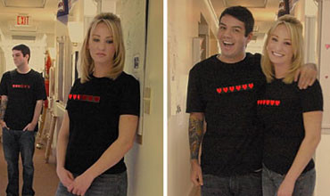 The Next Generation of Social T-shirts – Hearts, Hugs, and SMS