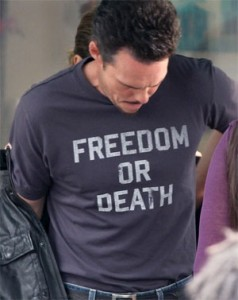 Freedom or Death – Celebrities Support Freedom on T-Shirts
