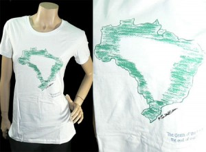 Celebrities Design T-Shirts to Save the Rainforest