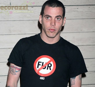 Celebrities Express Anti-Fur Opinions on T-Shirts