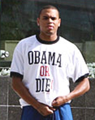 Obama Chris Brown