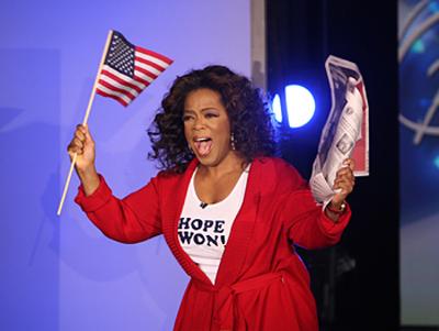 Obama Oprah