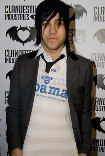 Obama Pete Wentz
