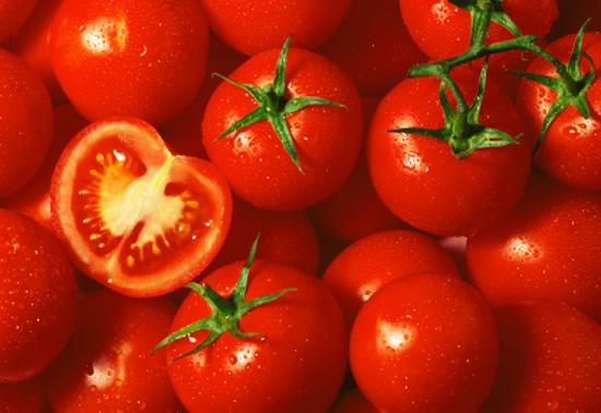 Tomato stains