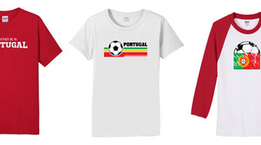Show your love of Portugal on a t-shirt