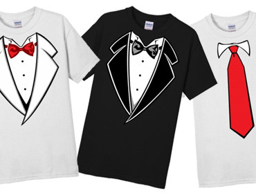 Top 5 Places to Wear a Tuxedo T-Shirt