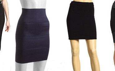 What to Wear with a High Wasted Skirt