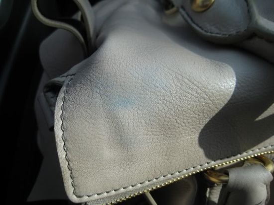 Stains on Leather