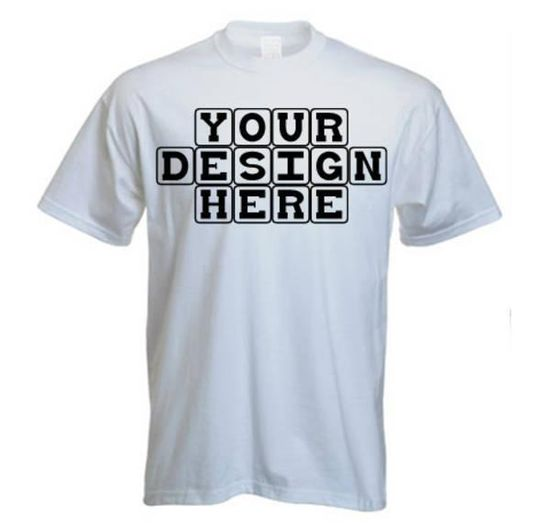 Customize t-shirts
