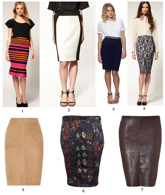 what to wear with a pencil skirt wardrobe advice