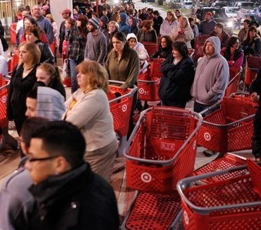 Shopping on Black Friday